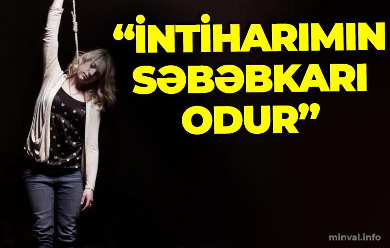 Azərbaycanda 3 uşaq anası özünü asdı – İntihardan öncə səs yazısı göndərib dedi ki… (VİDEO)