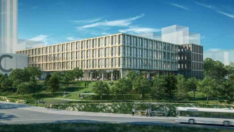 Bakının mərkəzində bu universitetin yeni korpusu tikilir – FOTOLAR