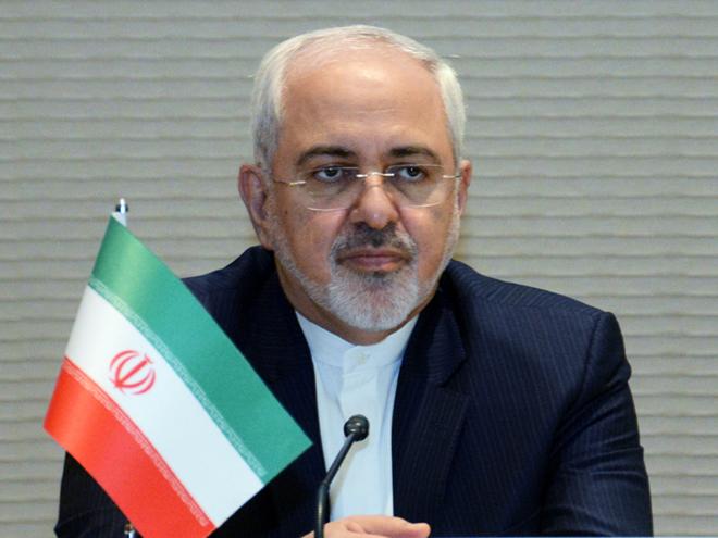 Zərifdən ABŞ dövlət katibinin İran haqda bəyanatına cavab