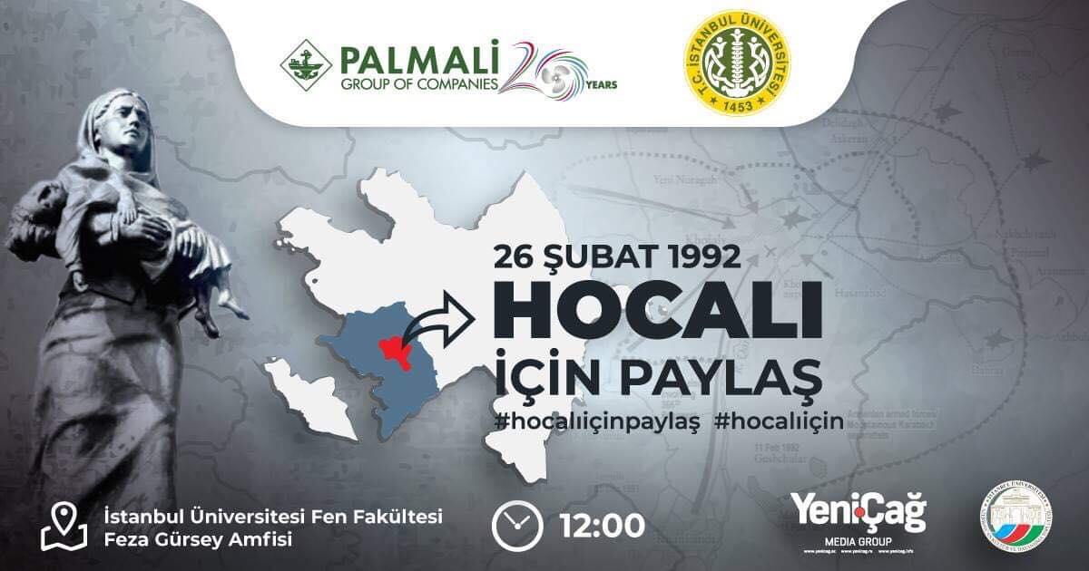 """""""Xocalı üçün paylaş"""" Beynəlxalq Sosial Media Kampaniyası başlayır – İstanbulda virtual müharibə"""