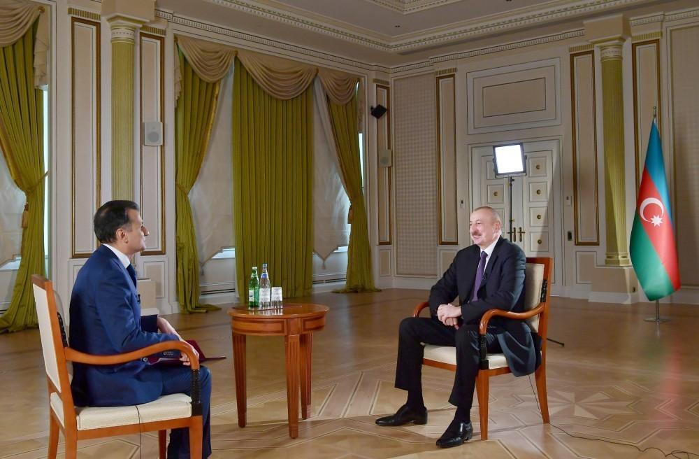 Prezident İlham Əliyevin geniş müsahibəsi – VİDEO