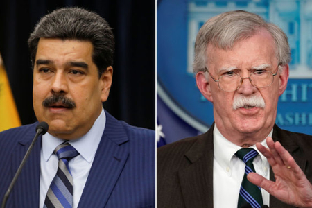 """""""Demokratiya qalası""""ndan Venesuela ordusuna çağırış: """"Maduronu devirin…"""""""