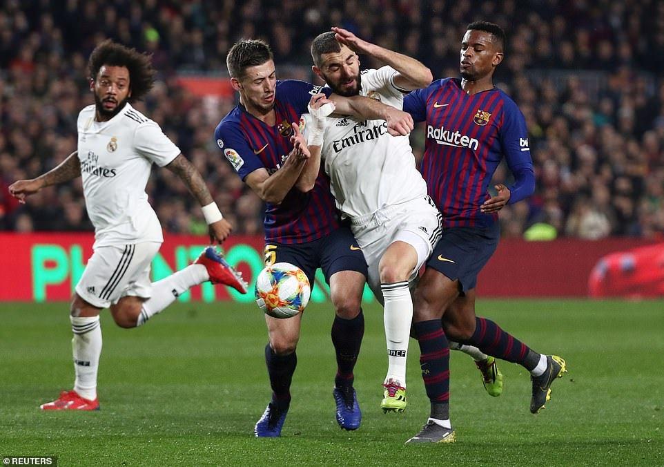 """""""Barselona"""" – """"Real Madrid"""" oyunu heç-heçə başa çatıb – VİDEO"""
