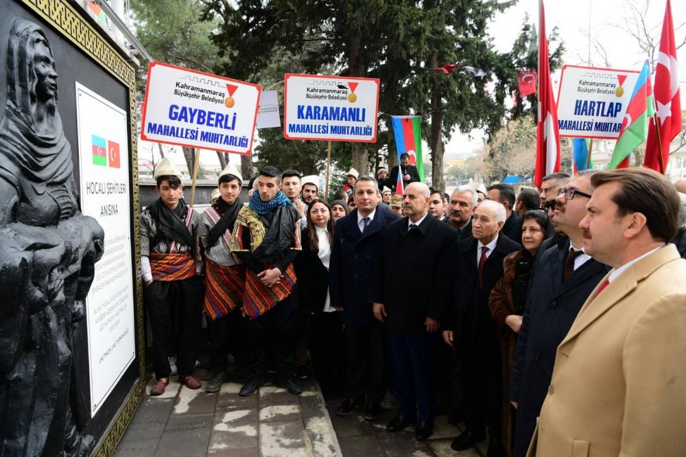 Türkiyədə Xocalı Parkının açılışı oldu