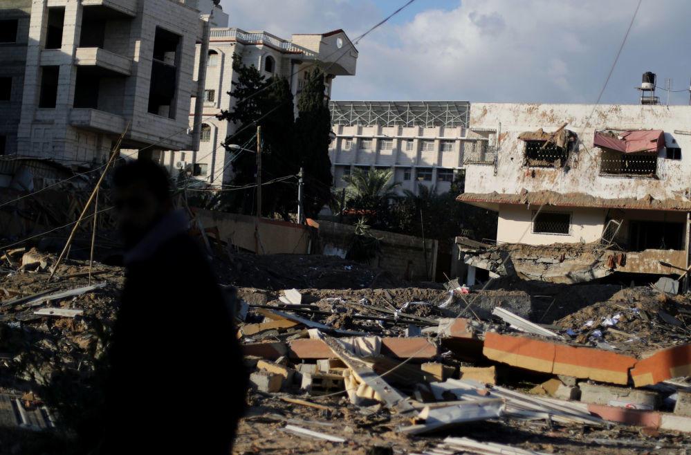 İsrail Qəzzanı belə dağıtdı – FOTOLAR