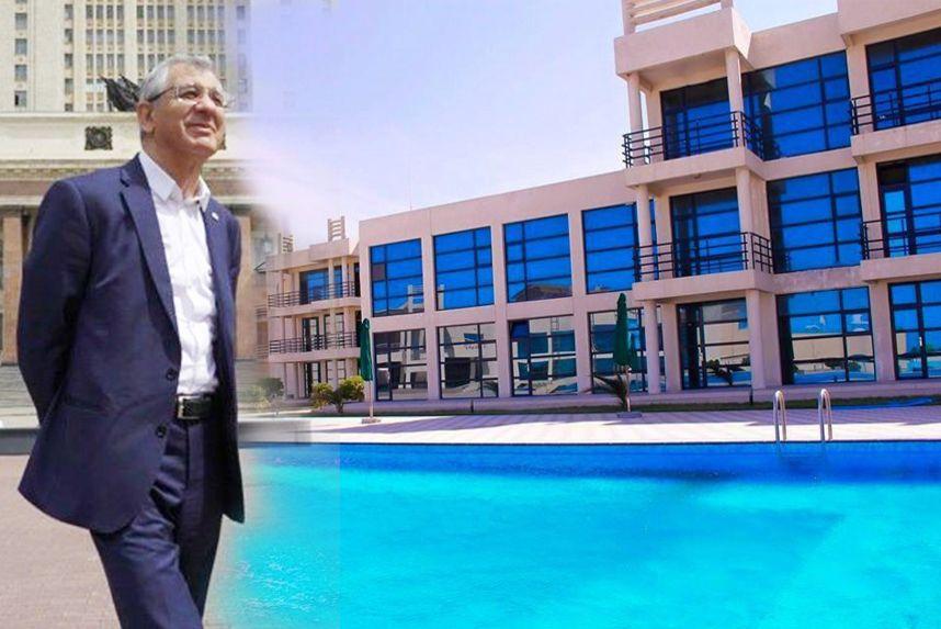 Azərbaycanda müəllimə 160 manat maaş verən rektorun dəbdəbəli oteli – FOTOLAR