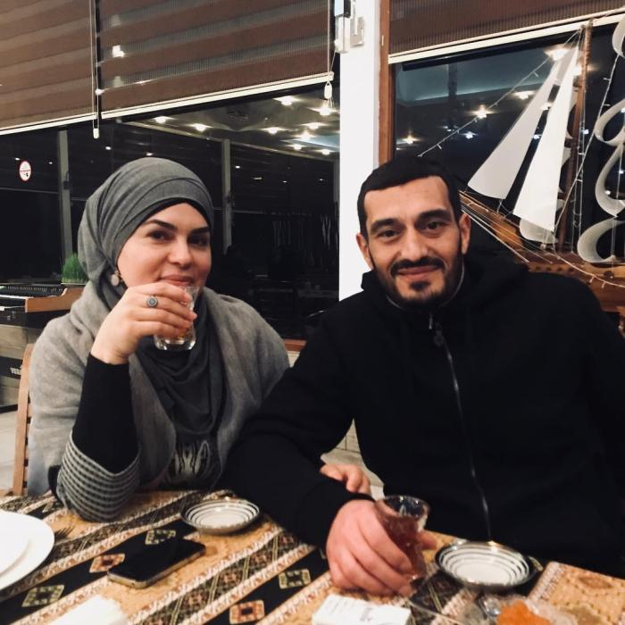 Fərqanə Qasımovanın həyat yoldaşı ilə YENİ GÖRÜNTÜSÜ