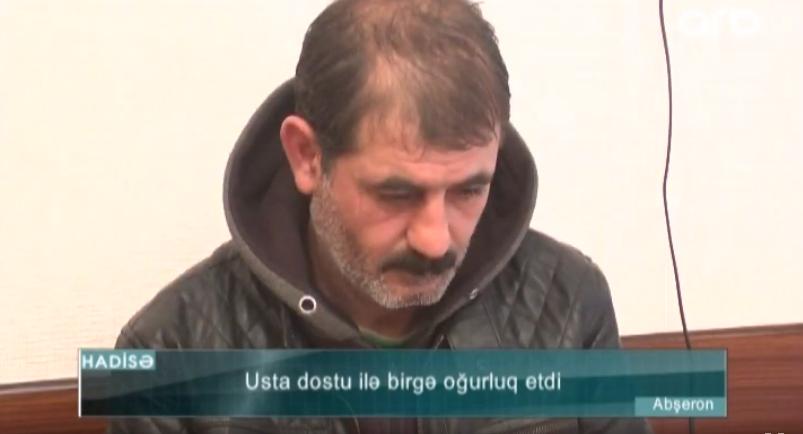 """Dostuma qoşulub getdim"""" – İşlədikləri evi qarət edən ustalar – VİDEO"""