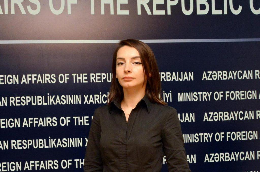 """Leyla Abdullayeva: """"Azərbaycan XİN separatçı rejimin """"təmsilçisinin"""" Moskva ..."""