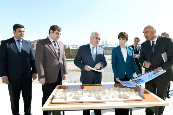 Naxçıvanda yeni məscid inşa olunur – FOTO