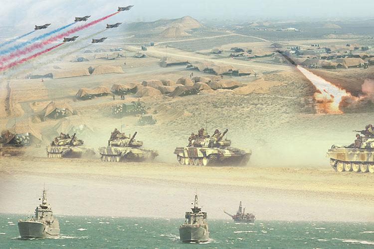 Azərbaycan Ordusunun genişmiqyaslı təlimləri keçirilir