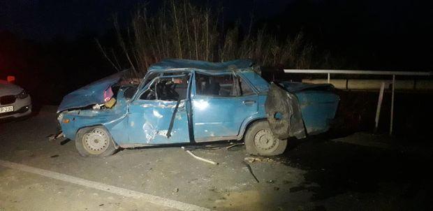 Avtomobil aşdı, sürücü hadisə yerində öldü – FOTO