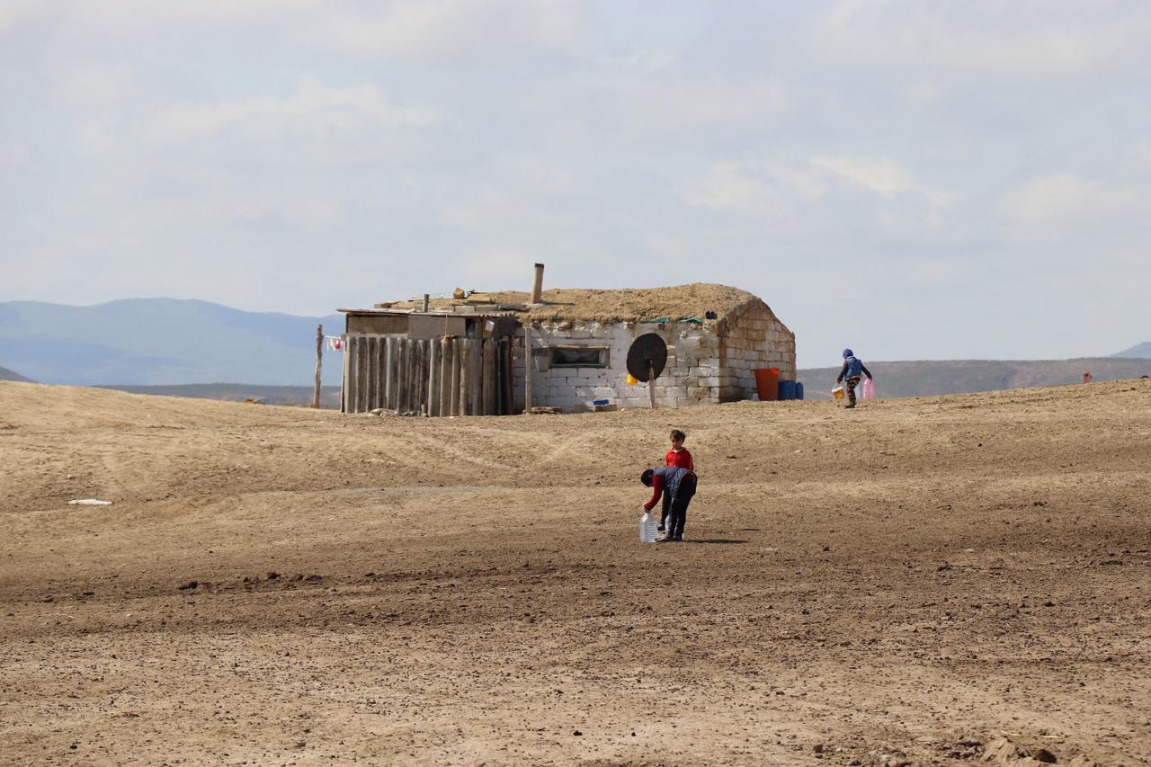 Abşeron rayonu Xanqulu qış otlaq sahəsi