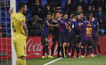 """İspaniya La Liqası: """"Vilyarreal"""" – """"Barselona"""" matçında 8 qol vurulub – VİDEO"""