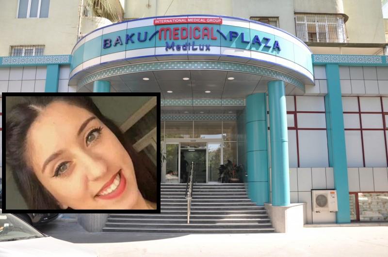 """""""Baku Medical Plaza""""dan açıqlama: """"Gülyaz Hacıyeva """"Baku Health""""da əməliyyat olunub"""""""