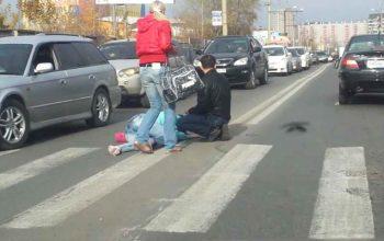 Bakıda sürücü maşını piyadaların üstünə sürdü – Ölən və yaralananlar var