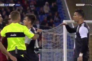"""Ronaldo """"Roma"""" müdafiəçisinin boyunu ələ salıb – Video"""