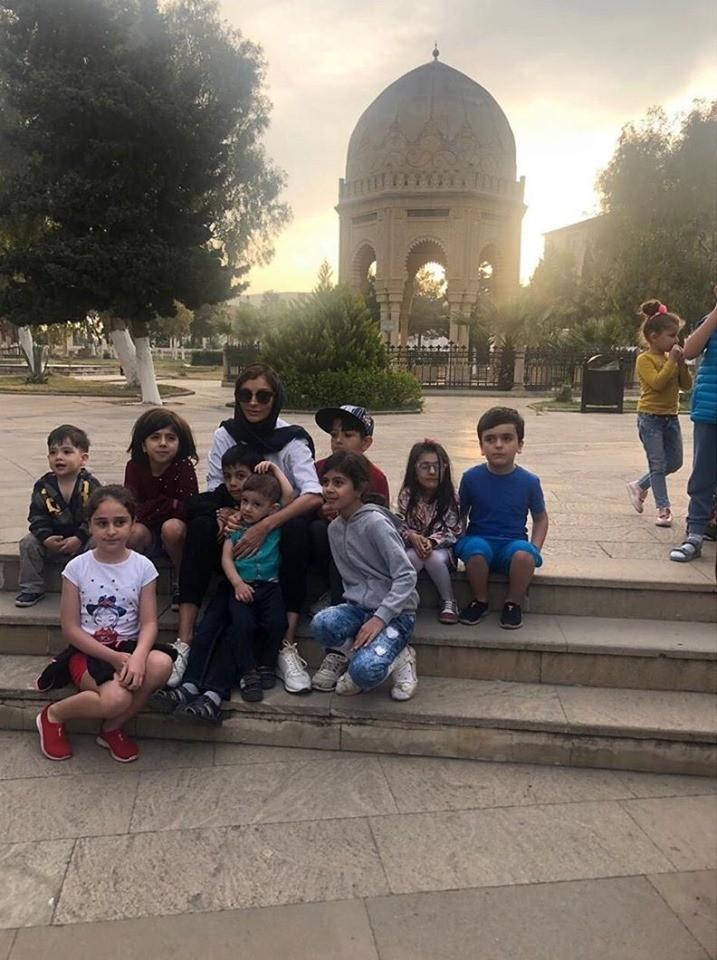 Mehriban Əliyeva və Leyla Əliyeva ziyarətgahda – Fotolar