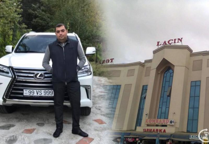 """Məhkəmə """"Laçın"""" Ticarət Mərkəzinin sahibinin oğlu ilə bağlı qərar verdi"""