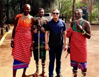 Mənsum İbrahimov Afrikada – Fotolar