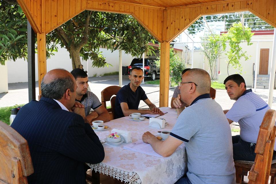 İcra başçısı Dilqəm Əsgərovun oğlu ilə görüşdü – Foto