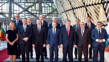 Prezident İlham Əliyevin də olduğu şəkil: Paşinyan yoxa çıxdı – ŞOK FOTO
