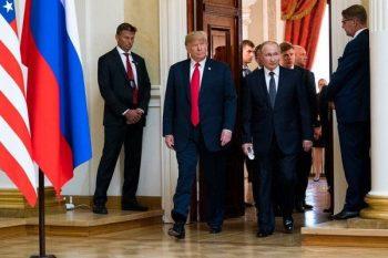 Putinlə Trampın görüşü başladı – VİDEO