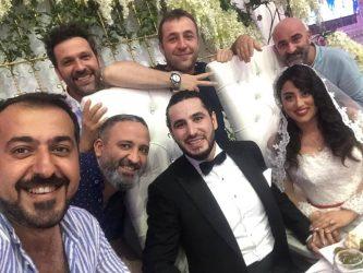 Azərbaycanlı aktyor 17 gün sonra yenidən toy etdi (FOTOLAR)