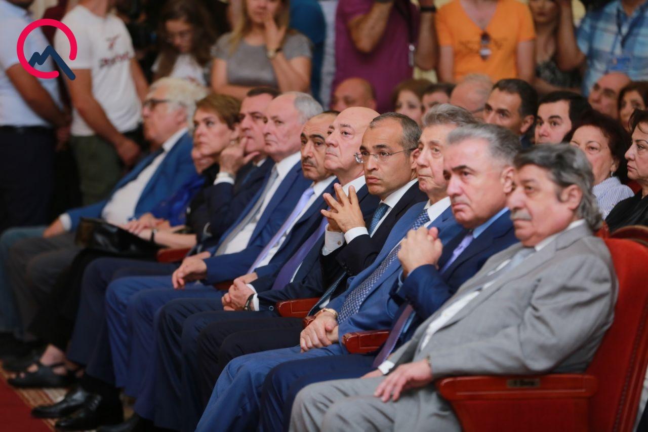 Ramiz Mehdiyev vida mərasimində – Foto