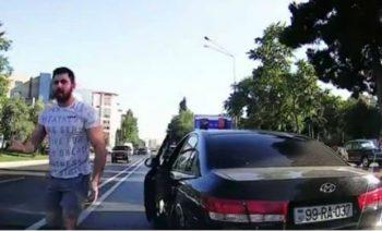 """Həm qayda pozur, həm də """"qoçuluq"""" edir – VİDEO"""