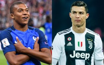 Mbappe 1-ci, Ronaldo 20-ci oldu