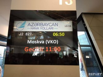 """Neftçi"" Moskvaya uça bilmir – Açıqlama"
