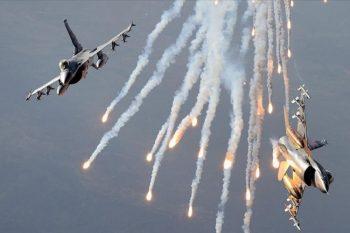 Türkiyə hərbi hava qüvvələri İraqın şimalında 13 PKK terrorçusunu zərərsizl ...
