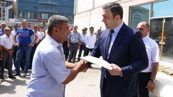 Qarabağ əlillərinə avtomobillər verildi – VİDEO