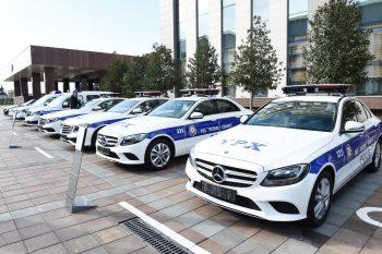 Yol polislərimizə yeni formalar verildi – FOTO