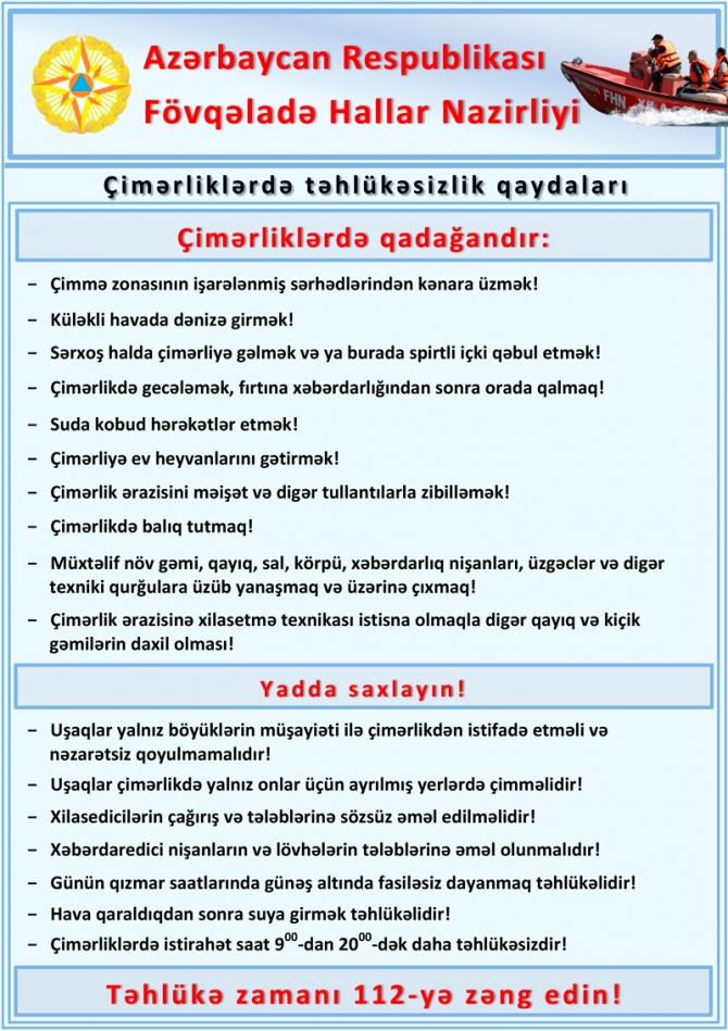 """Xəzərdə """"Ölüm dərələri"""" yaranıb: Çimməyə gedənlərin DİQQƏTİNƏ – VİDEO"""