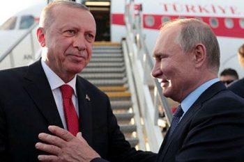 Putin Ərdoğanı belə yola saldı – Foto