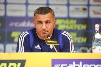 """Qurban Qurbanov: """"Futbolçular meydanda yaxşı vuruşdular"""""""