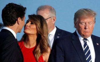 G7 sammitinə damğa vuran öpüş – Fotolar