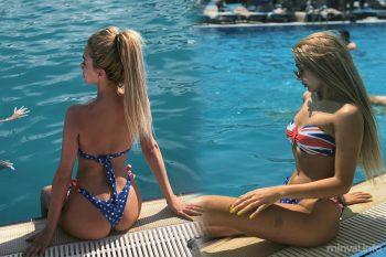 """Ayselin bikinili fotoları başına bəla oldu: """"Biz arxamızı çəkmirik"""" (FOTO,VİDEO)"""