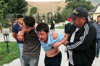 Atambayevin iqamətgahı yaxınlığında keçirilən əməliyyat zamanı 43 nəfər yar ...