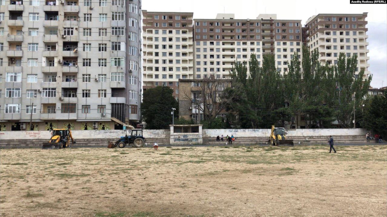 """Mitinqlərin keçirildiyi """"Məhsul"""" stadionu təmirə bağlanıb – Açıqlama"""