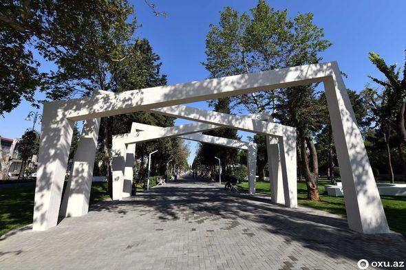 """""""Atatürk"""" parkı təmirdən sonra – FOTOREPORTAJ"""