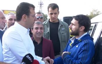 İmamoğlunun azərbaycanlı ilə maraqlı söhbəti – VİDEO