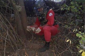 Qazax rayonunda top mərmisi aşkar olunub – FOTO