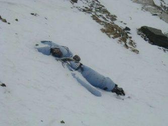 Alpinist öz ölümünü kameraya çəkdi – VİDEO