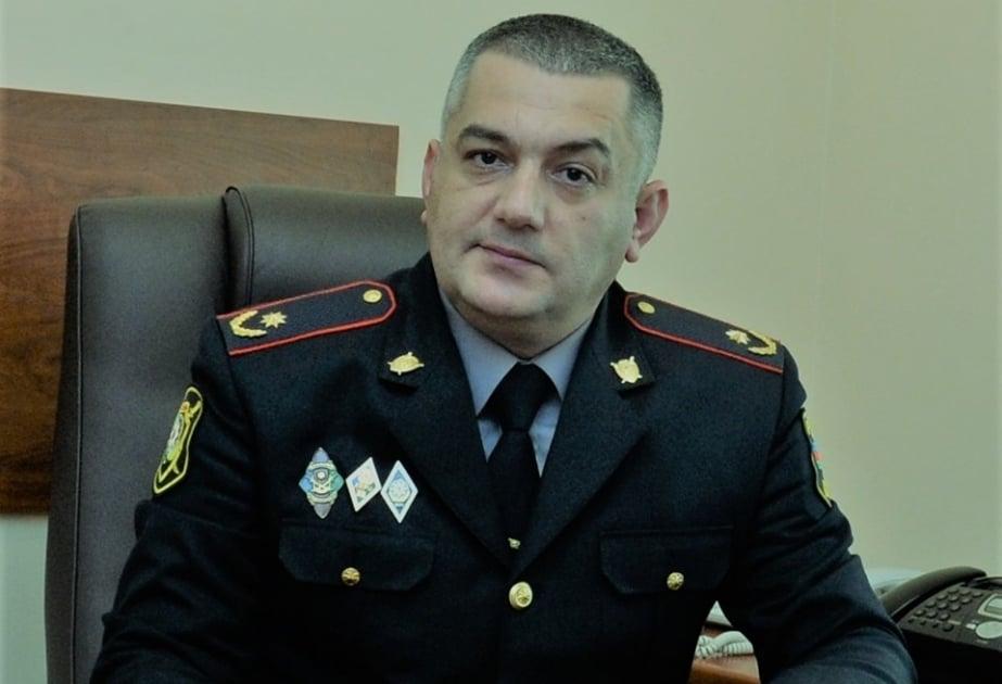 Bakı polisinin xidmət rəisini ölümlə hədələyən şəxs tutuldu