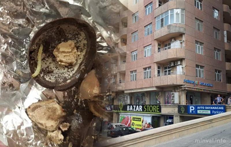"""""""Bazarstore"""" müştəriyə qurd """"hədiyyə"""" etdi- FOTOLAR"""