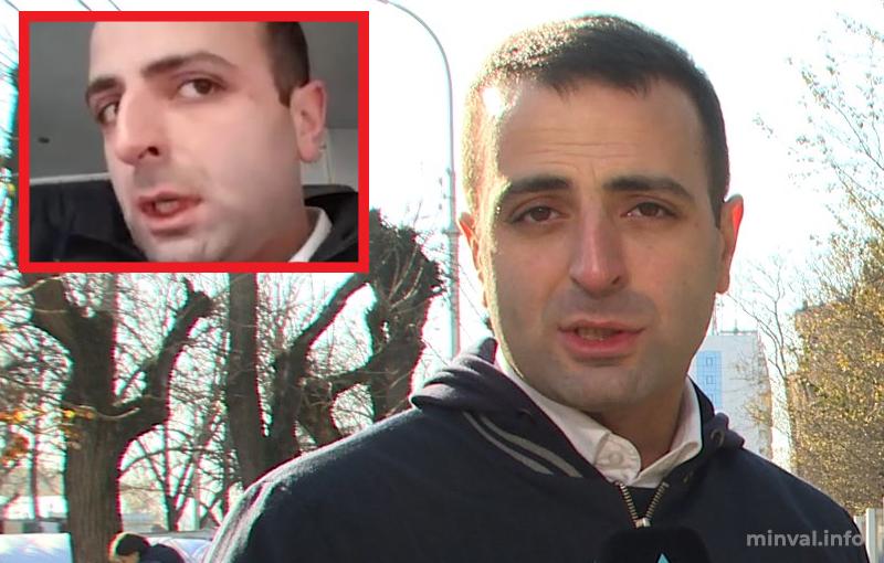 AzTV-nin əməkdaşları ermənilərin hücumuna məruz qaldılar (VİDEO)
